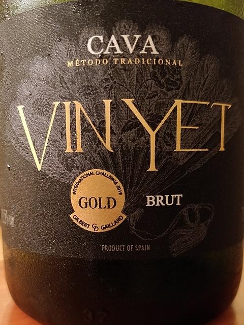Vin Yet Cava Brut(ヴィン・イェット カヴァ ブリュット)