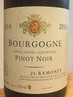 Jean Claude Ramonet Bourgogne Pinot Noir(ジャン・クロード・ラモネ ブルゴーニュ ピノ・ノワール)