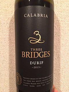 Calabria (Westend) 3 Three Bridges Durif
