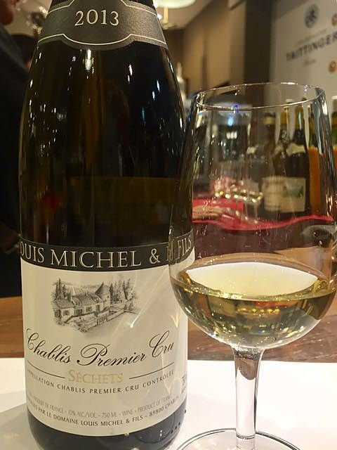 Louis Michel & Fils Chablis 1er Cru Séchets(ルイ・ミッシェル・エ・フィス シャブリ プルミエ・クリュ セッシェ)