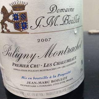 Dom. J. M. Boillot Puligny Montrachet 1er Cru Les Chalumeaux