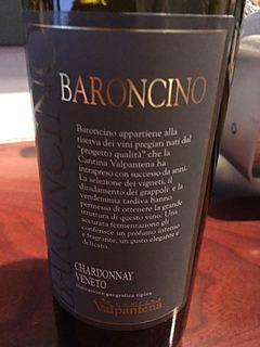 Cantina Valpantena Chardonnay dell Veneto Baroncino