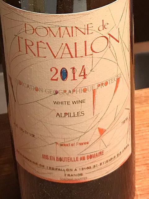 Dom. de Trévallon Blanc 2014(ドメーヌ・ド・トレヴァロン ブラン)