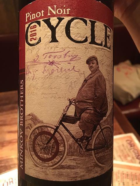 Minkov Brothers Cycle Pinot Noir(ミンコフ・ブラザーズ サイクル ピノ・ノワール)