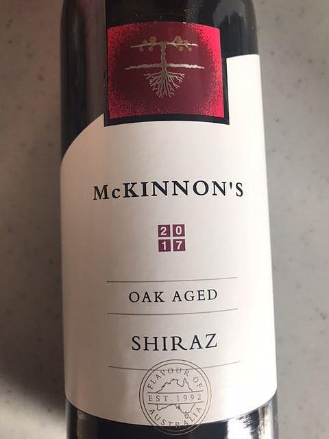 Mckinnon's Shiraz Oak Aged
