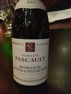 Dom. Pascault Bourgogne Hautes Côtes de Nuits Rouge