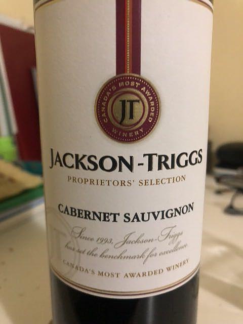 Jackson Triggs Proprietors' Selection Cabernet Sauvignon(ジャクソン・トリッグ プロプライアターズ・セレクション カベルネ・ソーヴィニヨン)