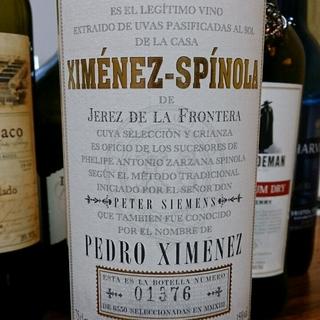 Ximénez Spínola Pedro Ximénez(ヒメネス・スピノラ ペドロ・ヒメネス)