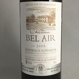 Ch. Bel Air Bordeaux Supérieur