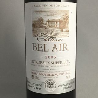 Ch. Bel Air Bordeaux Supérieur(シャトー・ベレール ボルドー・シュペリュール)