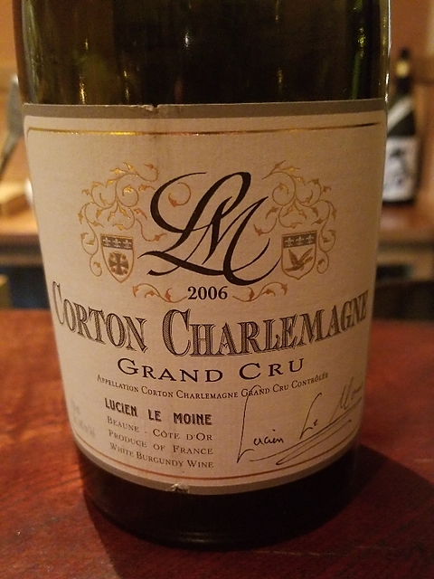 Lucien Le Moine Corton Charlemagne Grand Cru