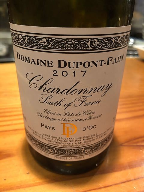 Dom. Dupont Fahn Chardonnay