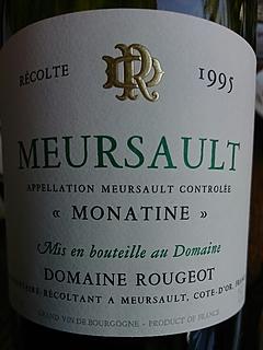 Dom. Rougeot Meursault Monatine(ドメーヌ・ルージョ ムルソー モナティーヌ)