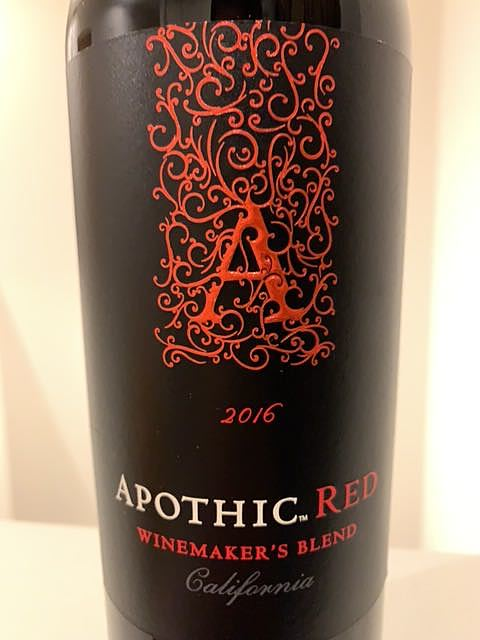 Apothic Red(アポシック レッド)