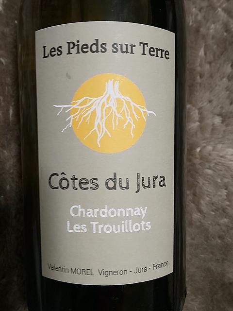 Valentin Morel Les Pieds Sur Terre Chardonnay Les Trouillots