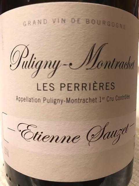 Etienne Sauzet Puligny Montrachet 1er Cru Les Perrières