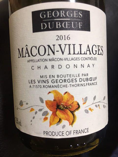 Georges Duboeuf Mâcon Villages
