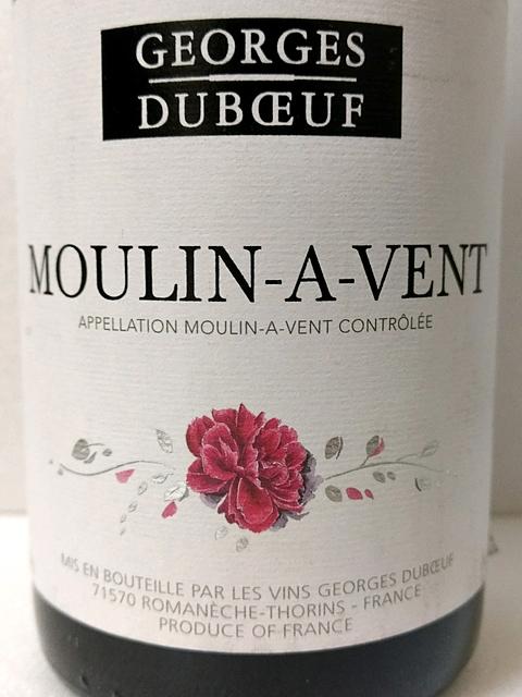 Georges Duboeuf Moulin à Vent(ジョルジュ・デュブッフ ムーラン・ナ・ヴァン)