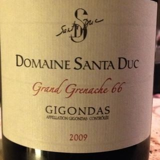 Dom. Santa Duc Gigondas Grand Grenache 66