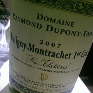 Raymond Dupont Fahn Puligny Montrachet 1er Cru Les Folatières