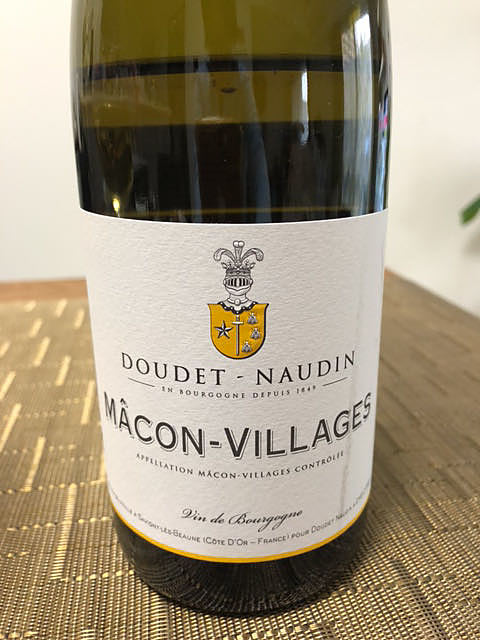 Doudet Naudin Mâcon Villages(ドゥデ・ノーダン マコン・ヴィラージュ)
