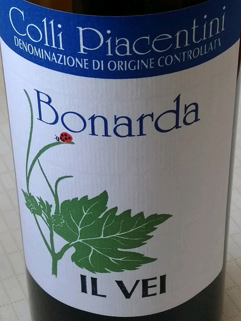 Il Vei Colli Piacentini Bonarda(イル・ヴェイ コッリ・ピアチェンティーニ ボナルダ)