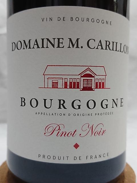 Dom. Marguerite Carillon Bourgogne Pinot Noir(ドメーヌ・マルグリット・カリヨン ブルゴーニュ ピノ・ノワール)