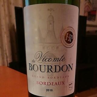 Vicomte de Bourdon Bordeaux Blanc