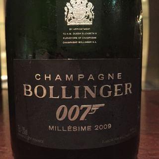 Bollinger James Bond 007 Limited Edition 2009(ボランジェ ジェームス・ボンド 007 リミテッド・エディション)