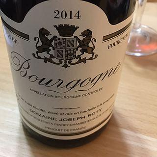 Dom. Joseph Roty Bourgogne Blanc 2014(ドメーヌ・ジョセフ・ロティ ブルゴーニュ ブラン)