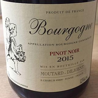 Moutard Diligent Bourgogne Pinot Noir