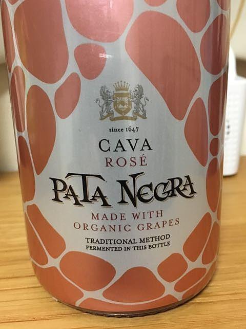 Pata Negra Organic Cava Brut Rosé(パタ・ネグラ オーガニック カヴァ ブリュット ロゼ)