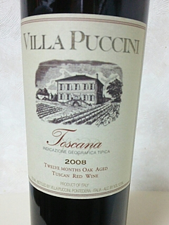Villa Puccini Toscana Rosso