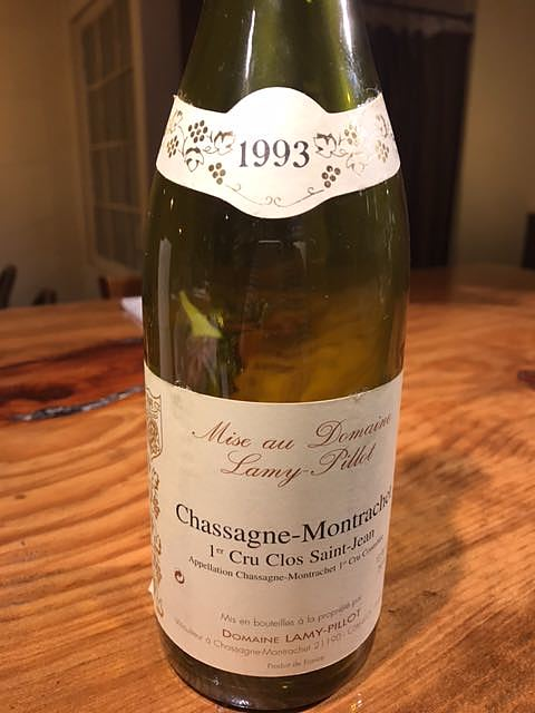 Lamy Pillot Chassagne Montrachet 1er Cru Clos Saint Jean(ラミィ・ピヨ シャサーニュ・モンラッシェ プルミエ・クリュ クロ・サン・ジャン)