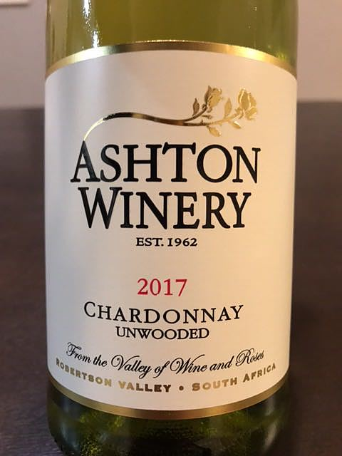 Ashton Winery (Ashton Kelder) Chardonnay Unwooded
