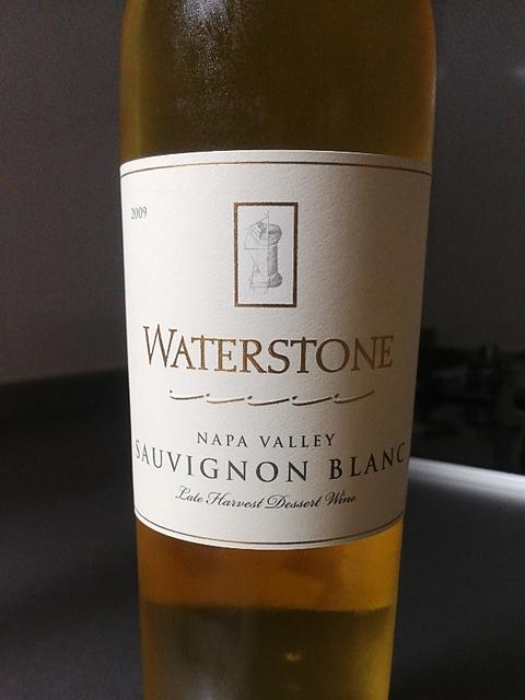 Waterstone Napa Valley Sauvignon Blanc Late Harvest(ウォーターストーン ナパ・ヴァレー ソーヴィニヨン・ブラン レイト・ハーヴェスト)