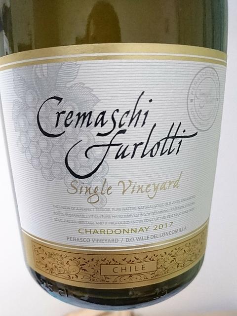 Cremaschi Furlotti Chardonnay Single Vineyard(クレマスキ・フルロッティ シャルドネ シングル・ヴィンヤード)