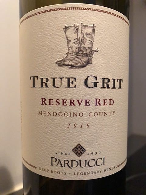 Parducci True Grit Reserve Red 2016(パラドゥッチ トゥルー・ギフト リザーヴ・レッド)