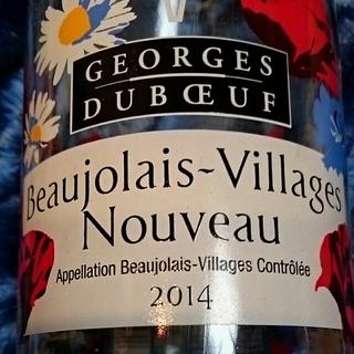 Georges Duboeuf Beaujolais Villages Nouveau