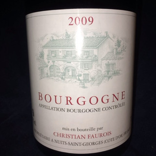 Christian Faurois Bourgogne Rouge