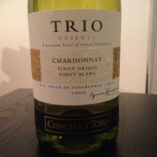 Concha y Toro Trio Chardonnay Pinot Grigio Pinot Blanc Reserva