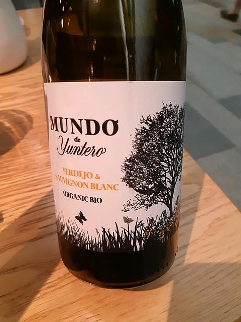 Mundo de Yuntero Verdejo & Sauvignon Blanc Bio(ムンド・デ・ユンテロ ヴェルデホ ソーヴィニヨン・ブラン ビオ)