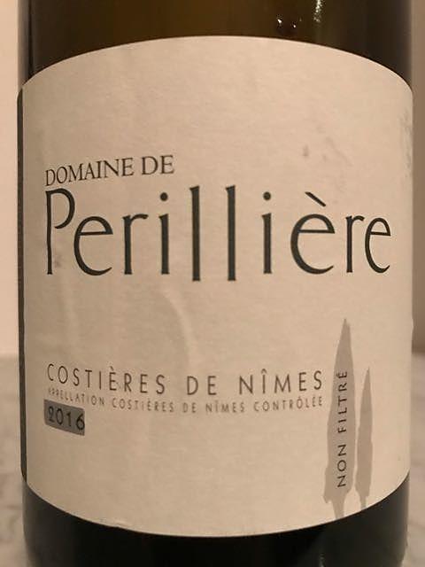 Dom. de Périllière Costières de Nîmes Non Filtre