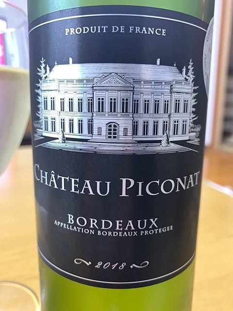 Ch. Piconat Bordeaux Blanc(シャトー・ピコナ)