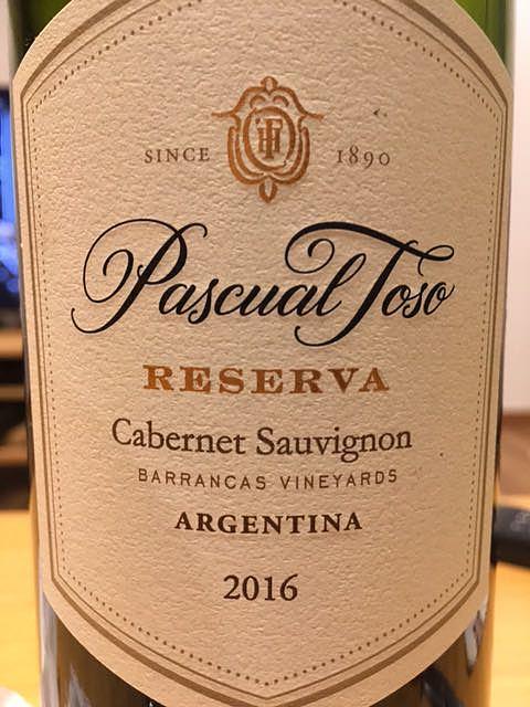Pascual Toso Reserva Cabernet Sauvignon