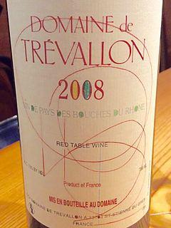 Dom. de Trévallon Rouge 2008