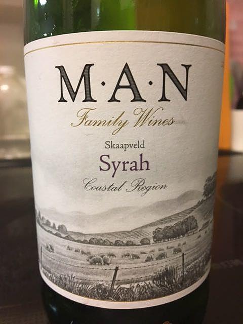 Man Family Wines Skaapveld Shiraz(マン・ファミリー・ワインズ シラーズ)