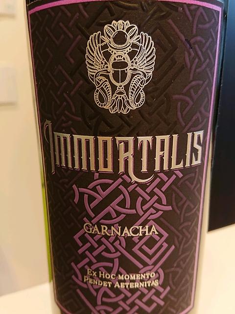 Immortalis Garnacha(インモルタリス ガルナッチャ)
