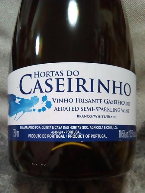 Hortas do Caseirinho Frisante Branco(オルタ・ド・カセイリーニョ フリザンテ ブランコ)
