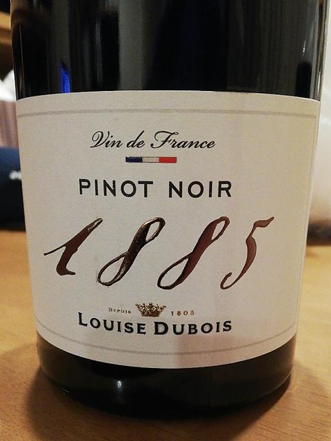 Louise Dubois 1885 Pinot Noir(ルイーズ・デュヴォワ ピノ・ノワール)